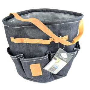 Garden Tools Bag - Round - Jeans